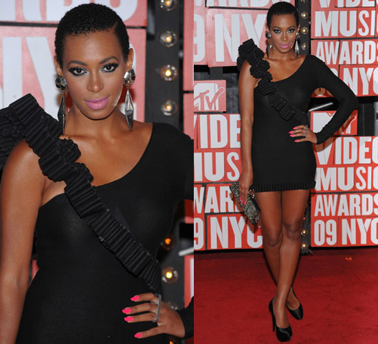 Photos of Solange Knowles at  2009 MTV Video Music Awards
