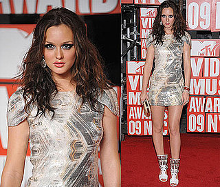 Leighton Meester MTV VMA Red Carpet