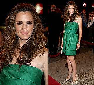 Photo of Jennifer Garner Wearing Green Oscar de la Renta Dress at The Invention of Lying Premiere at 2009 Toronto Film Festival 2009-09-15 12:00:08