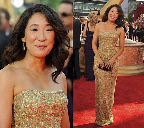 Photo of Sandra Oh at 2009 Primtime Emmy Awards 2009-09-20 16:55:15