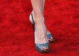 Mary Louise Parker's glittery Loubs.