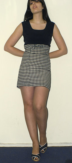 Houndstooth Hottie