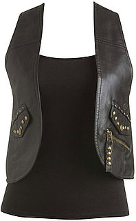 Fab Finger Discount: Wet Seal Studded Leather Vest