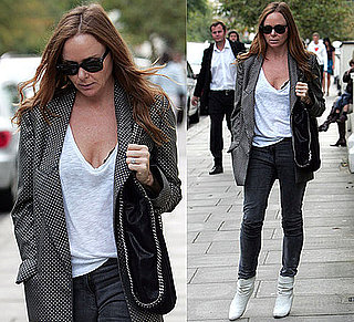 Photo of Stella McCartney in Polka-Dot Blazer in London