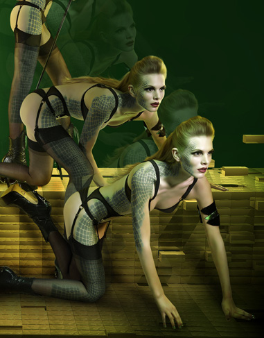Sneak Peek! Agent Provocateur's Autumn Superheroes