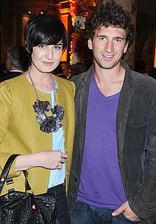 Photo of Erin O'Connor Wearing Funky Foliage Necklace in London