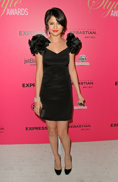 Selena Gomez in Notte by Marchesa