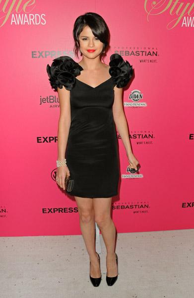 Selena Gomez in Notte by Marchesa