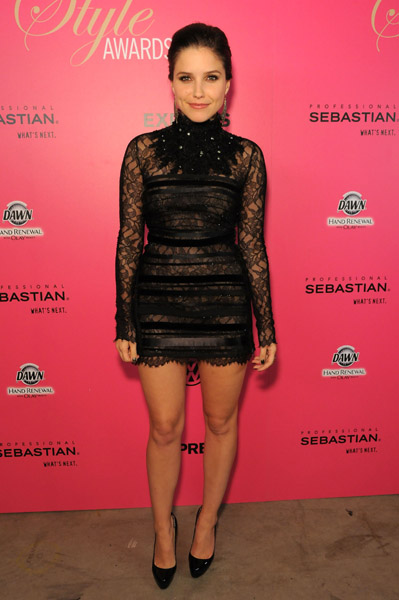 Sophia Bush in Max Azria