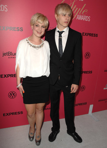 Kelly Osbourne and Luke Worrall