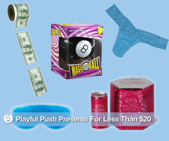 Playful Push Presents For Less Than $20