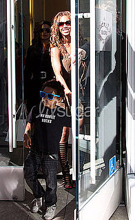 Beyonce Likes Her Nephew So She Put a Shirt on Him