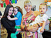 Soliel Moon Frye and Busy Phillips and Daughters