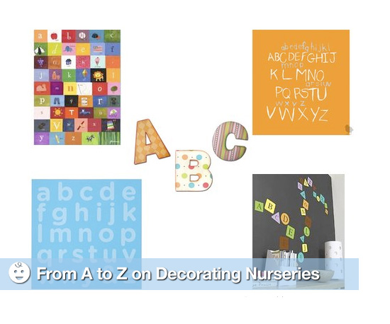 From A to Z on Decorating Nurseries