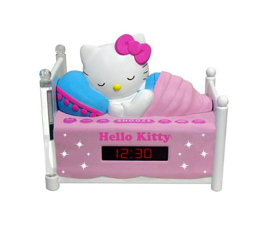Hello Kitty Alarm Clock and Nightlight