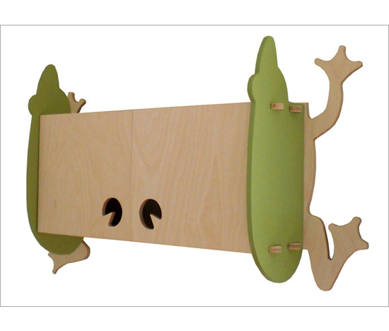 Roebuck Studio Frog Cabinet