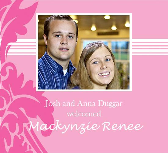 Mackynzie Renée Duggar,