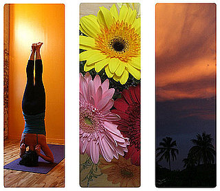 Fittingly Green: Design Your Own Yoga Mat at Yogamatic