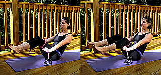 Exercise to Tone Thighs and Core Using an Exercise Band