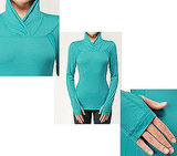 Trail Tech Mesh Long Sleeved Running Shirt by Lululemon