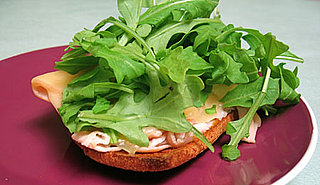 Strive For 5: Salad on Open-Faced Sandwich