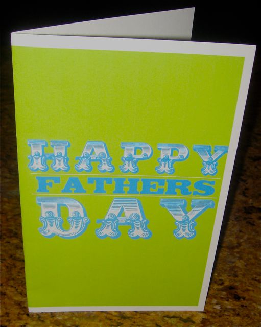 Design Dazzle has the instructions for creating this charming Father's Day card.