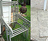 Before and After: Patio Chairs From Trash to Treasure