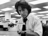 Dustin Hoffman played Carl Bernstein in All the President's Men, uncovering the details of Watergate, which led to President Nixon's resignation. He couldn't have done his job without his trusty typewriter. Source