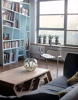 Cool Idea: Chair, Stool, and Bookcase in One