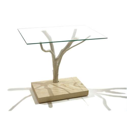The Branch Table ($319, reduced from $495) by realist and industrial designer Harry Allen brings an element of the natural world indoors.