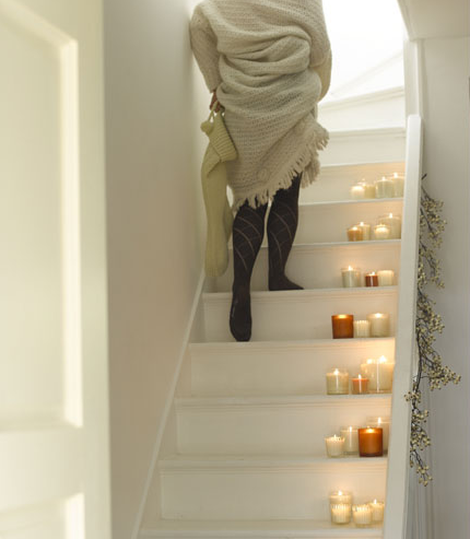 Do You Ever Place Candles on Your Stairs or Floor?