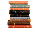 Fake the library look on a small scale with these Vintage Scandinavian Books ($40).