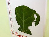 PhotoJojo shows you how to make this leaf silhouette portrait.