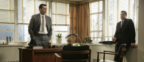 Don Draper's office has been on my radar for some time. Get the look of his office here. Source