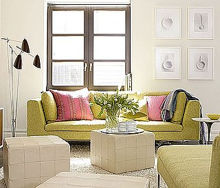 Get the Look: Brad Ford's Lovely Lime Living Room