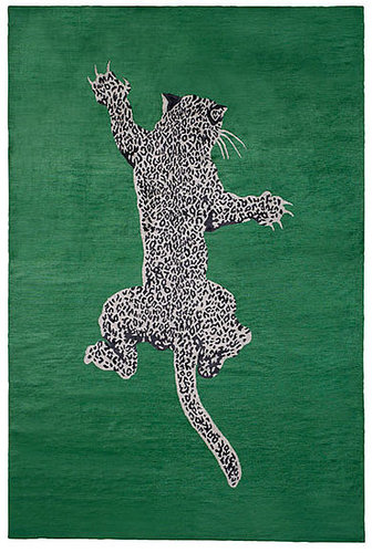 Love It or Hate It? Diane von Furstenberg Leopard Rug