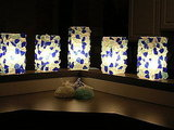 Just add beach glass to turn some Ikea lamps into pretty illuminated pieces, advises HGTV.