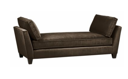 The Simone Daybed ($999) would easily fit into your bay-window nook, and still allow room for guests to stretch out.
