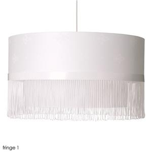 The Moooi Fringe Lamp ($1202) is pretty fantastic, but its updated shape and color suffers from none of the kitsch factor as the movie's table lamp.