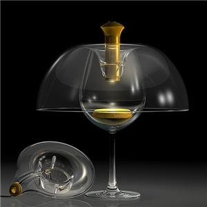 Calling all winos! The Bettylou Table Lamp ($199) by Mark McKenna creates the look of a romantic, candle-lit rendezvous by placing a cordless, rechargeable, energy-efficient lamp over a wine glass.