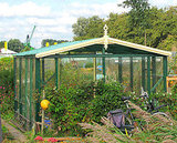Feeling ambitious. Head to Instructables to learn how to extend your growing season by building a greenhouse.