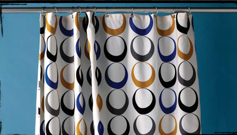 Sewing Republic has a PDF with instructions for stitching up this hip shower curtain.