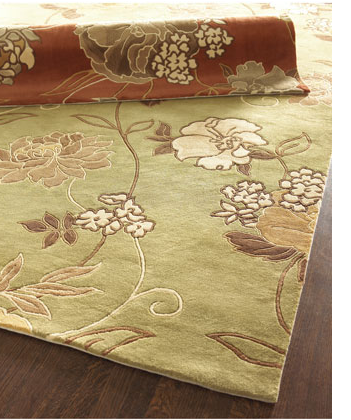 Add flower fun to your floors with the Zangi Floral Rug ($149 and up).