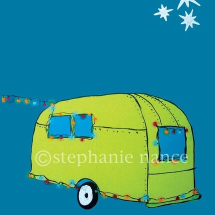 Stock up on cards for the holidays with Stephanie Nance's Holiday Greeting Cards ($12 for five).