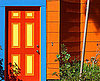 Orange Houses