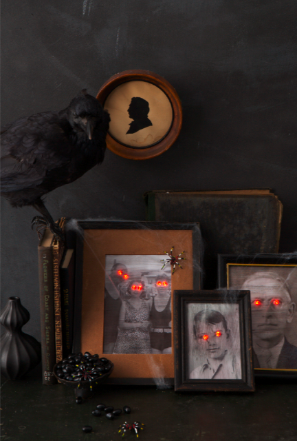 I adore these freaky antique portraits, created by Sweet Paul.