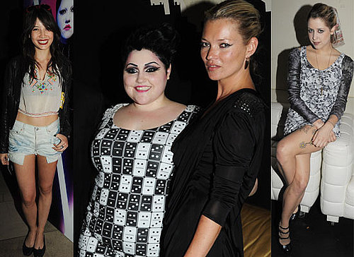 Photos Of Kate Moss, Simon Cowell, Daisy Lowe, Peaches Geldof, Kelly Osbourne At Launch Party For Beth Ditto's Clothing Line