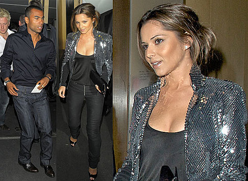 Photos of Cheryl Cole With Ashley Cole at Nobu as Reports Suggest She's Being Lined Up for The X Factor USA