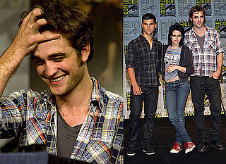 Photos of Robert Pattinson, Kristen Stewart and Taylor Lautner at New Moon Comic-Con Panel
