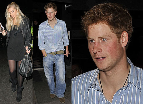 Photos of Chelsy Davy at Prince Harry's 25th Birthday Party at Raffles